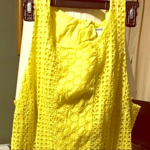 Yellow dress size 14. Old navy